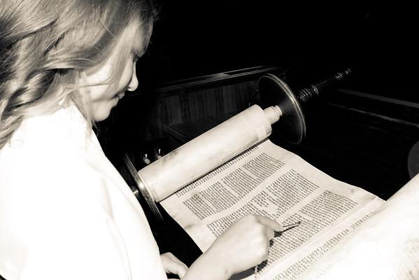 Elisabeth Riska Bat Mitzvah, September 24, 2011
