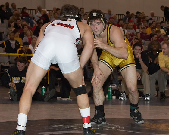 165 lbs. Eric Tannenbaum (MICHIGAN) def Nick Marable (MISSOURI) by decision7-4