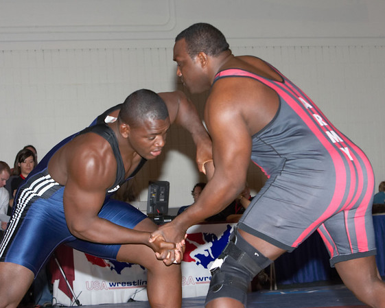 120 kg Greco Champion Mijial Lopez (Cuba) def. Dremiel Byers (USA)
