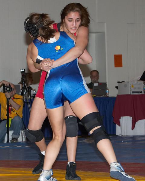 59 kg Women Champion Erin Tomeo (USA) def. Tatiana Padilla (USA)