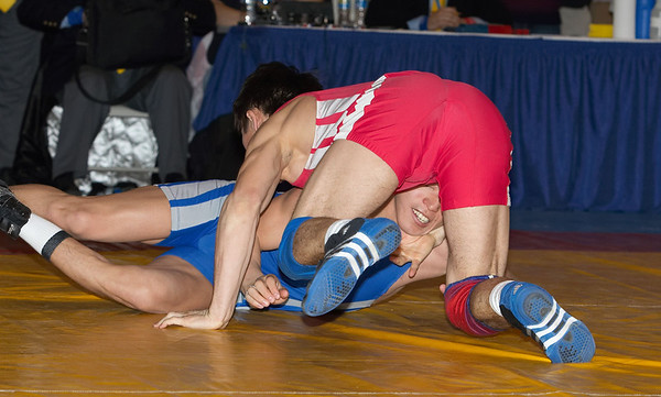 60 kg Greco Champion Tengizbayev (Kazakhstan) def. Konyratov (Kazakhstan)