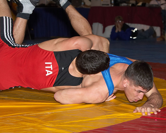 84 kg Greco Champion Andrea Minguzzi (Italy) def. Keith Sieracki (USA)
