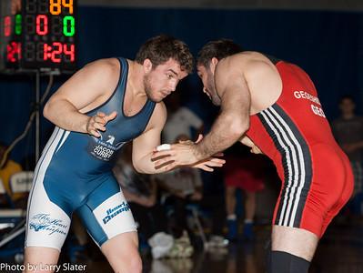 84kg Chas Betts v. Vladimer Gegeshidze