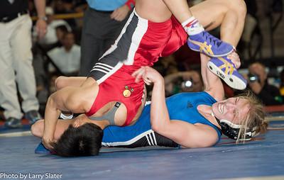 48kg Clarissa Chun def  Alyssa Lampe_R3P3840