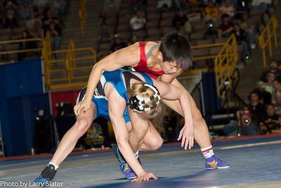 48kg Clarissa Chun def  Alyssa Lampe_R3P3846