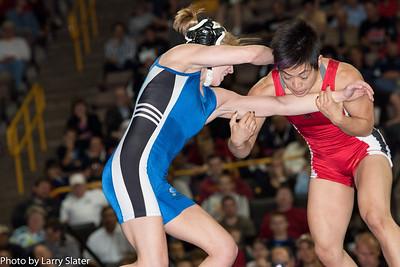 48kg Clarissa Chun def  Alyssa Lampe_R3P3844
