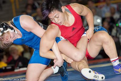 48kg Clarissa Chun def  Alyssa Lampe_R3P3850