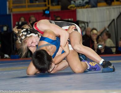 48kg Clarissa Chun def  Alyssa Lampe_R3P3624