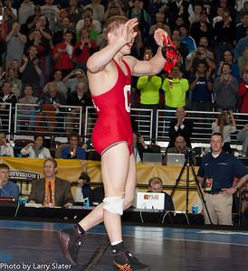 165 Kyle Dake (Cornell) def  David Taylor (Penn State) _R3P2865