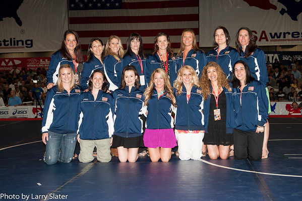 Pioneer Women Wrestlers recognized