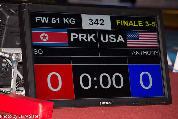 Victoria Anthony, 51kg Women's Freestyle