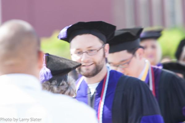 2012 Blake Slater Graduation from Whittier Law School