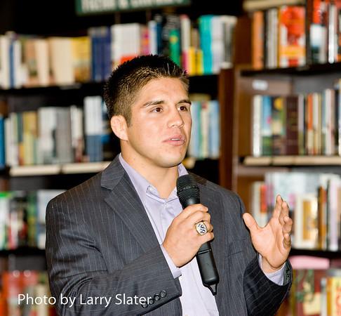 Henry Cejudo Book Tour