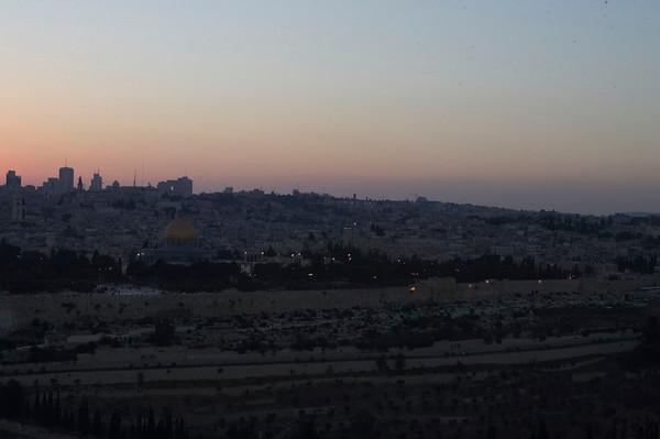 Jerusalem at Night 2007